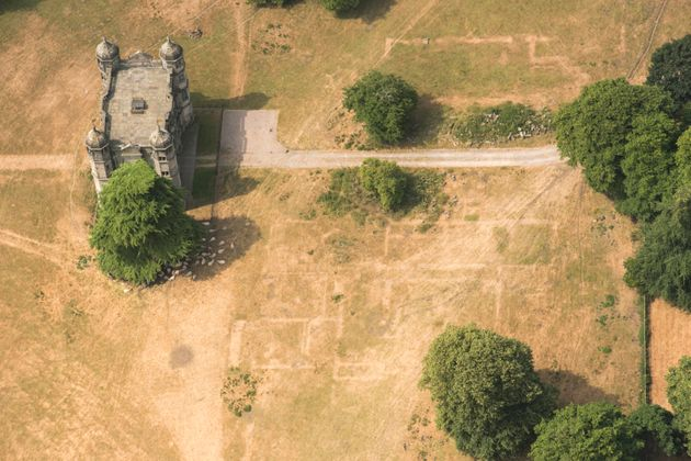 In Staffordshire, details of lost Elizabethan buildings can be