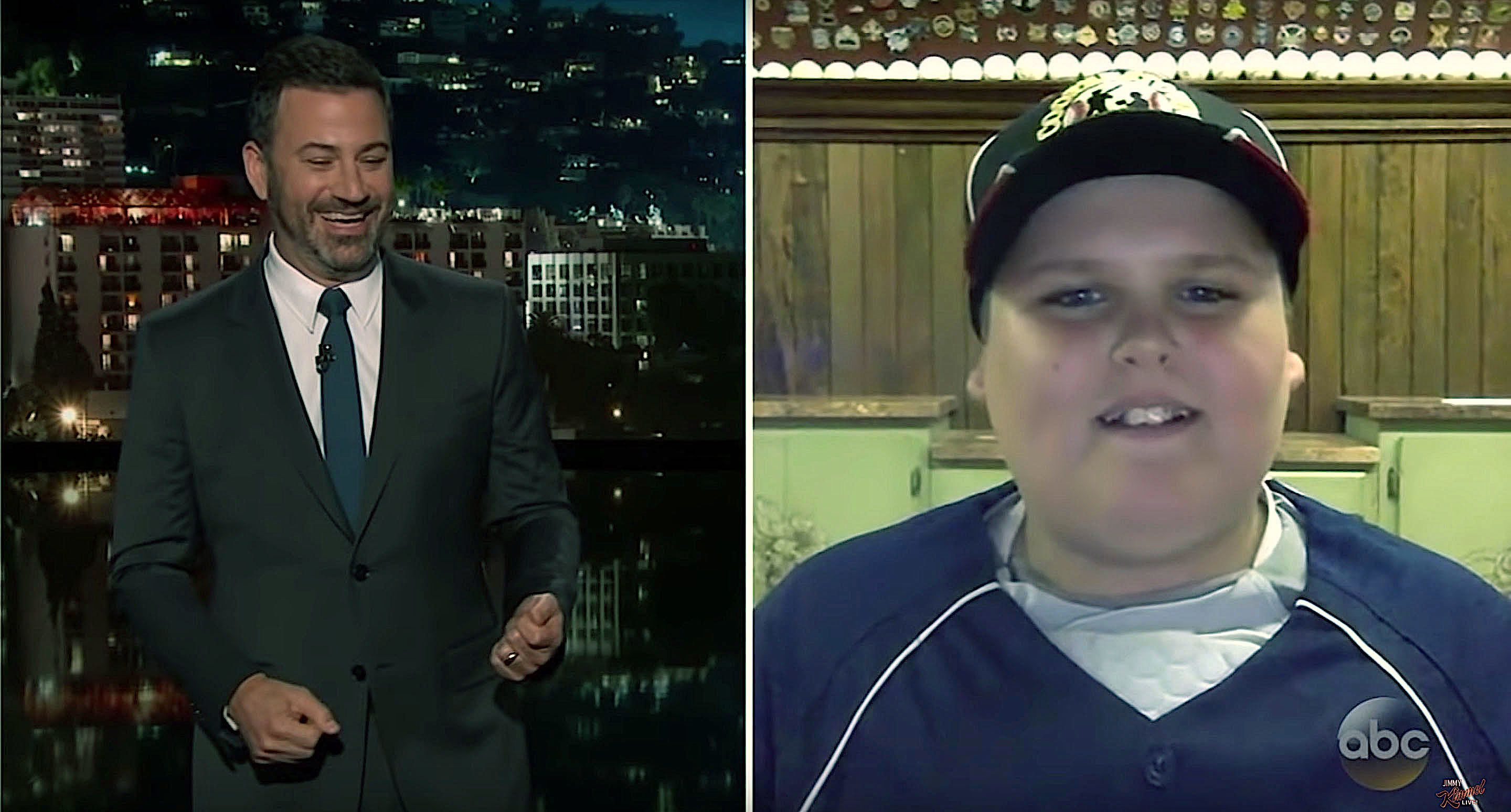 Little Leaguer Who Went Viral Tells Jimmy Kimmel How To Hit
