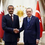 L'émir du Qatar se rend en Turquie en soutien à