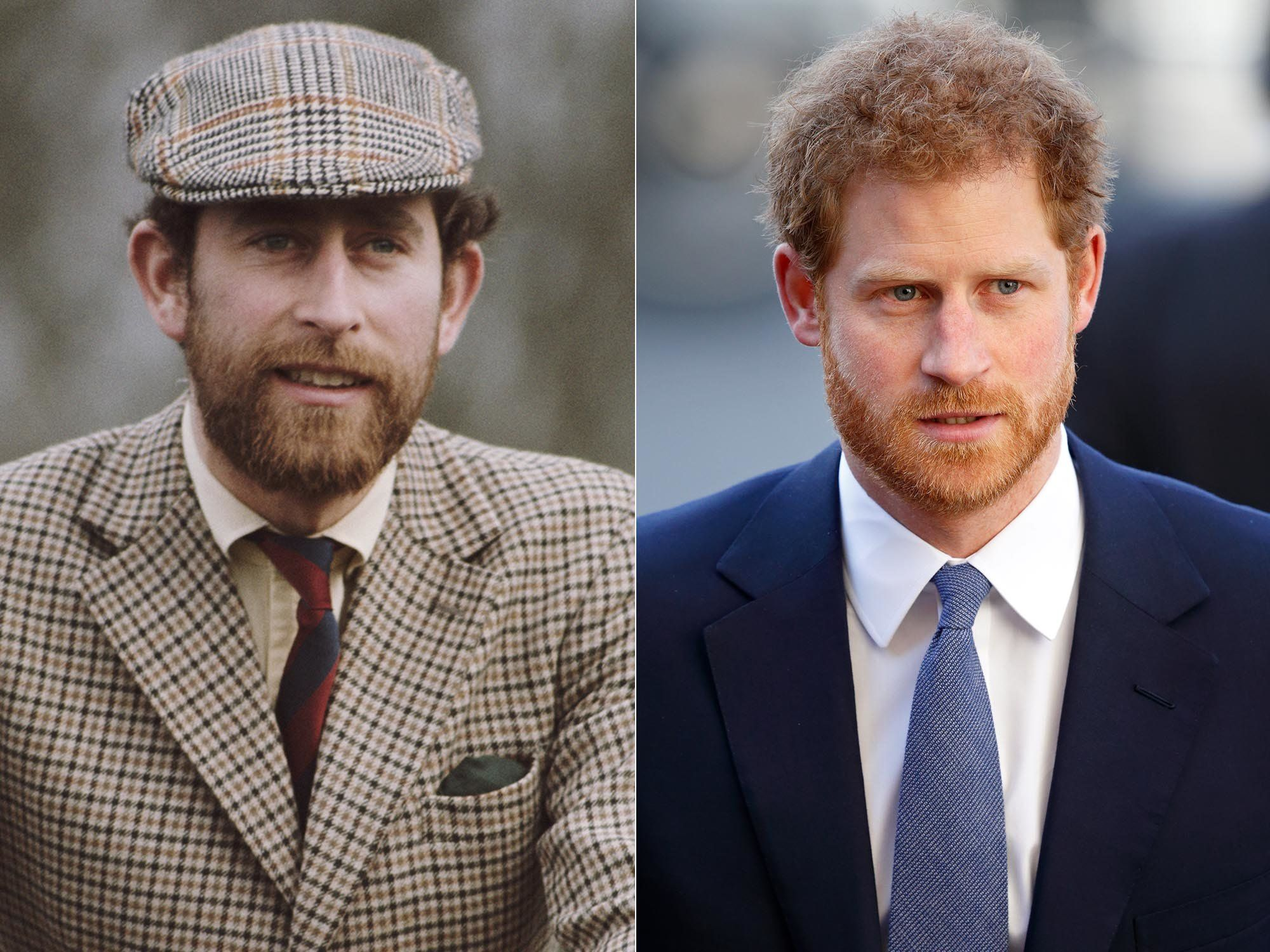 Foto yang menunjukkan kemiripan para bangsawan Inggris
