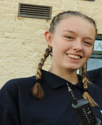 Katie Harvey is an apprentice electrician who, at 17, is already saving for a