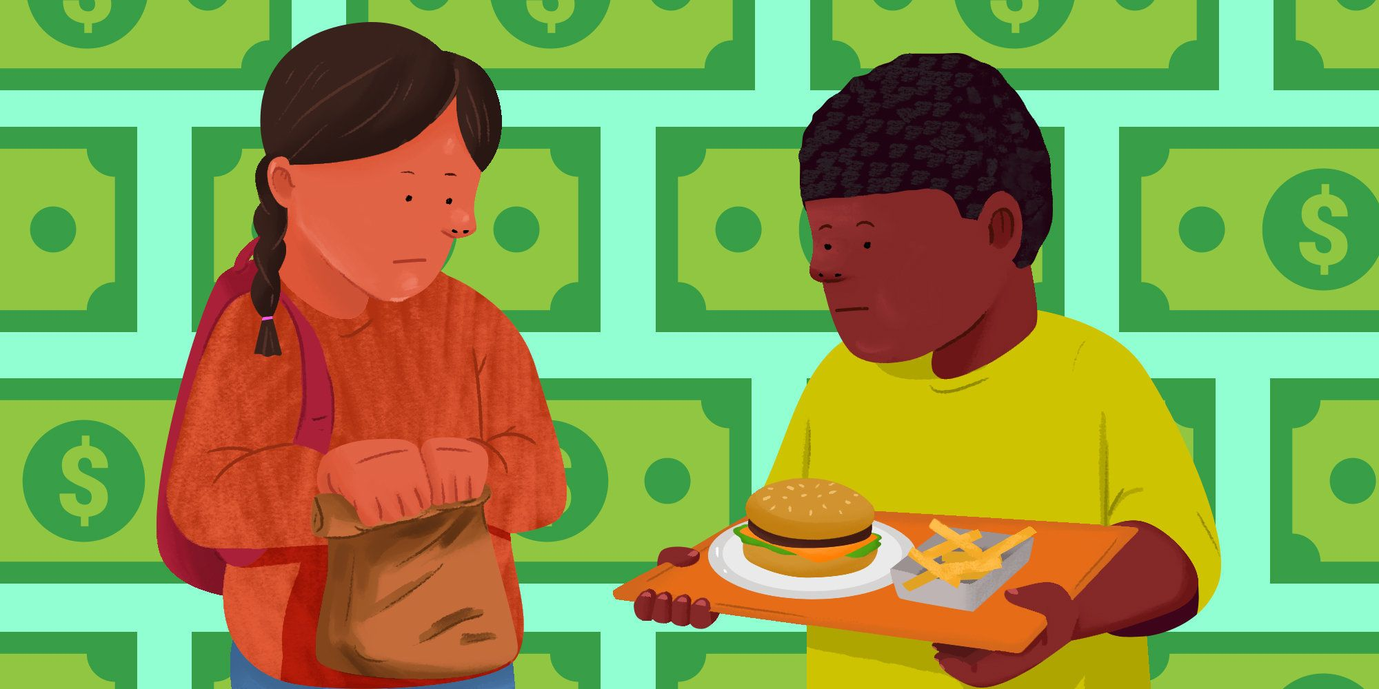 As kids are heading back to the classroom, many feel a stigma attached to their free or reduced-price lunches.