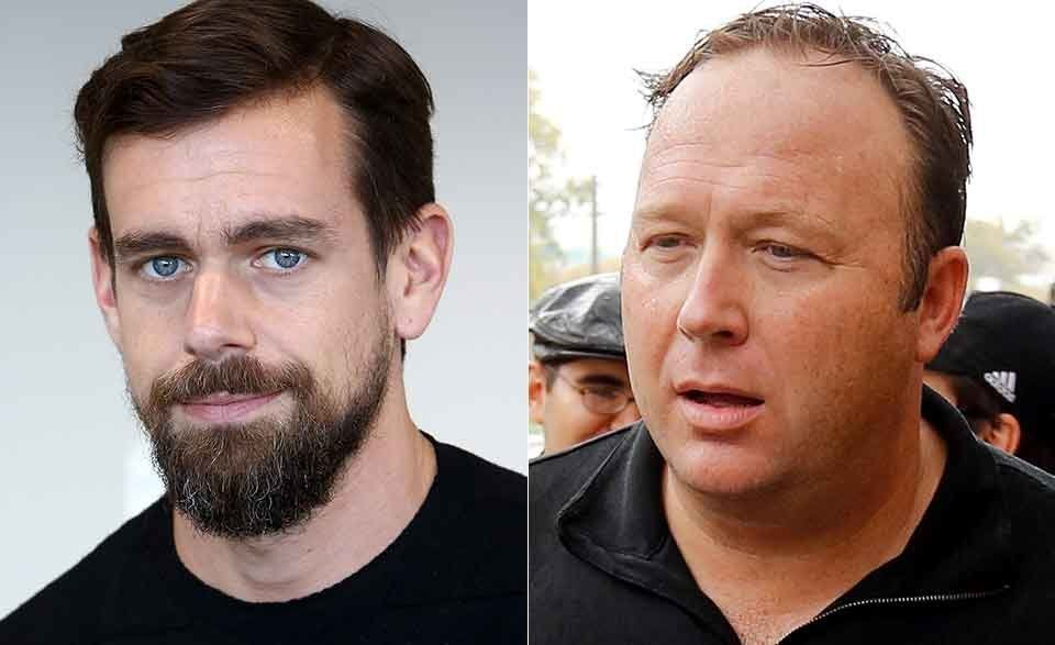 Twitter Users Mock Jack Dorsey's Rationale For Alex Jones' 7-Day Suspension