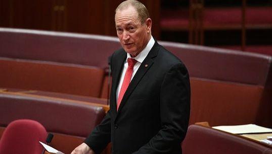 """Ce sénateur australienappelle à recourir à """"une solution finale"""" contre l'immigration"""