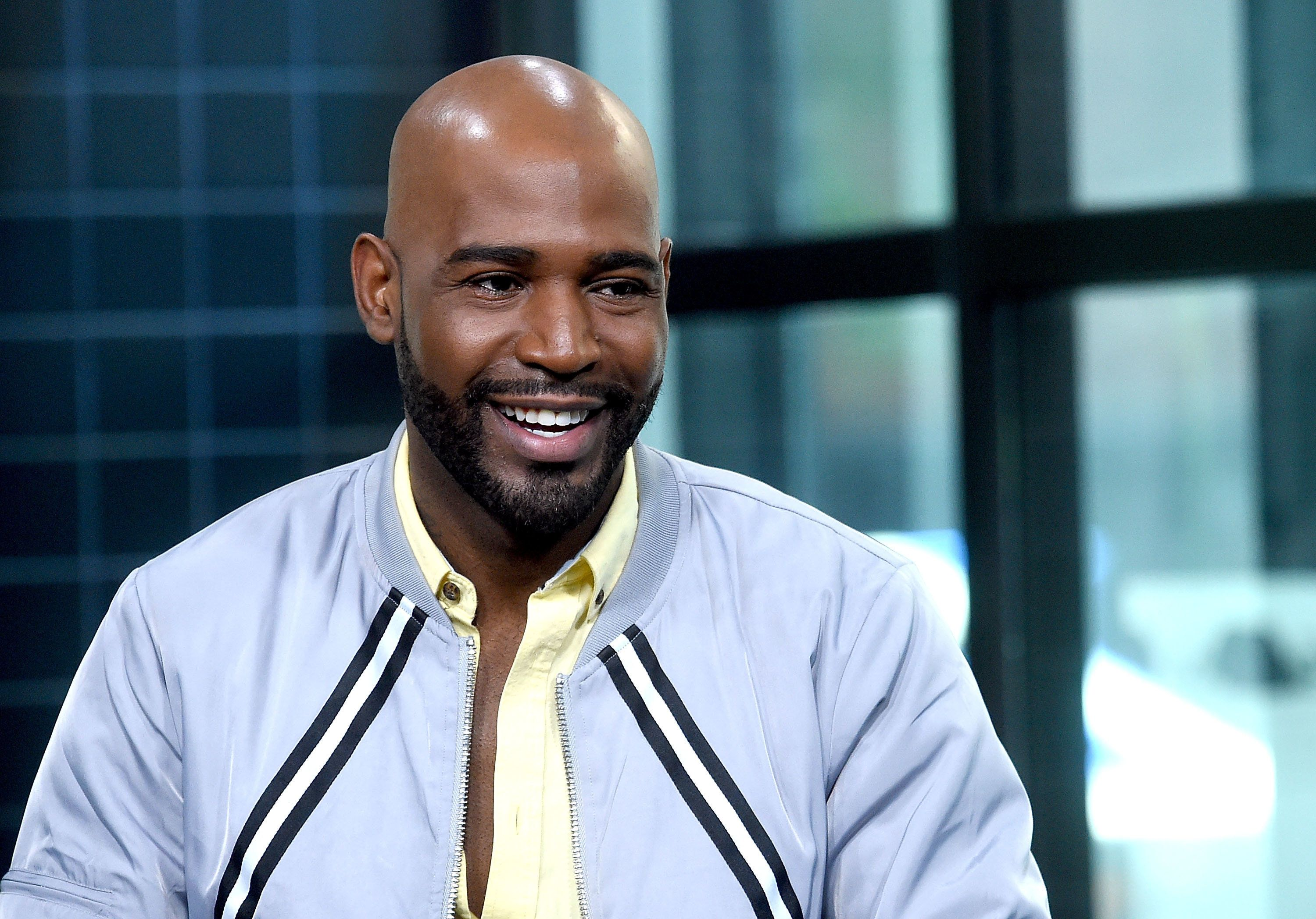 NEW YORK, NY - JUNE 25:  Karamo Brown visits Build Series to discuss his show 'Queer Eye' at Build Studio on June 25, 2018 in New York City.  (Photo by Jamie McCarthy/Getty Images)