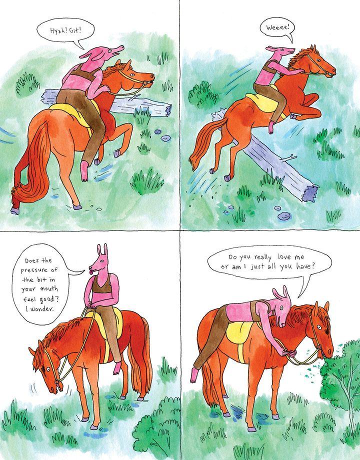 Professional Horse Artist Lisa Hanawalt Is Living Her Girlhood Dream