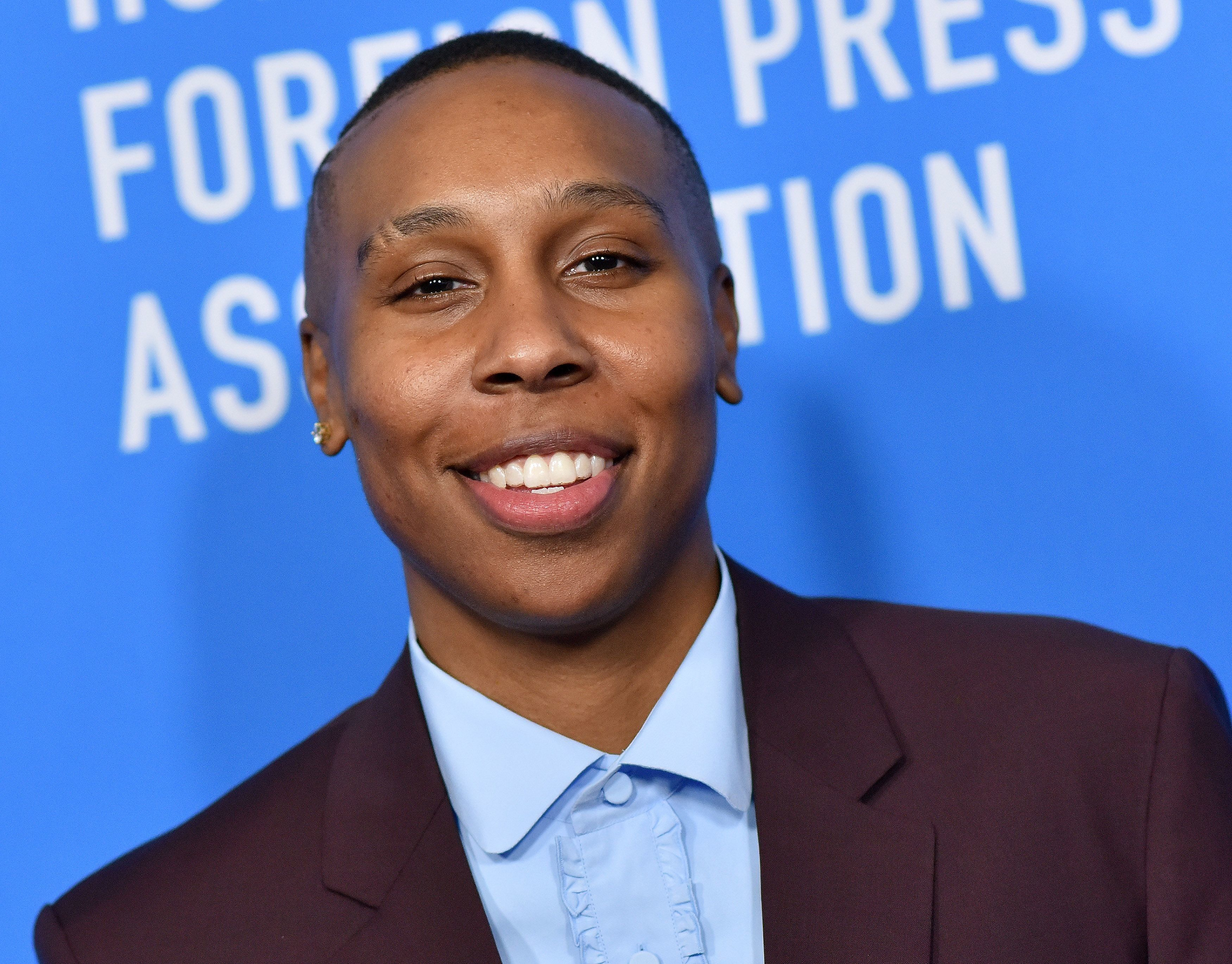 US actress/screenwriter Lena Waithe attends the Hollywood Foreign Press Associations Annual Grants Banquet in Beverly Hills, California, on August 9, 2018. (Photo by LISA O'CONNOR / AFP)        (Photo credit should read LISA O'CONNOR/AFP/Getty Images)