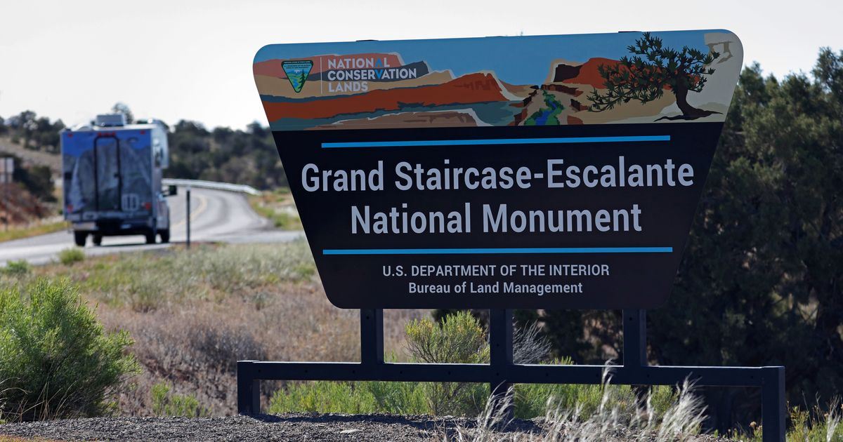 Trump Administration May Sell Or Transfer Land Cut From Utah Monument