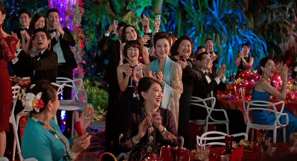 """Michelle Yeoh (center) in""""Crazy Rich Asians."""""""