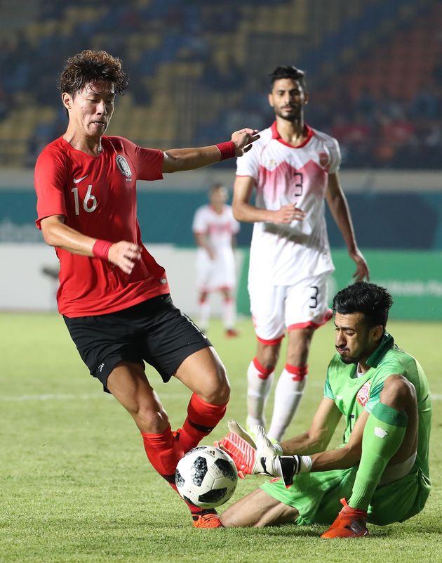 김학범호가 바레인을 상대로 6-0 대승을
