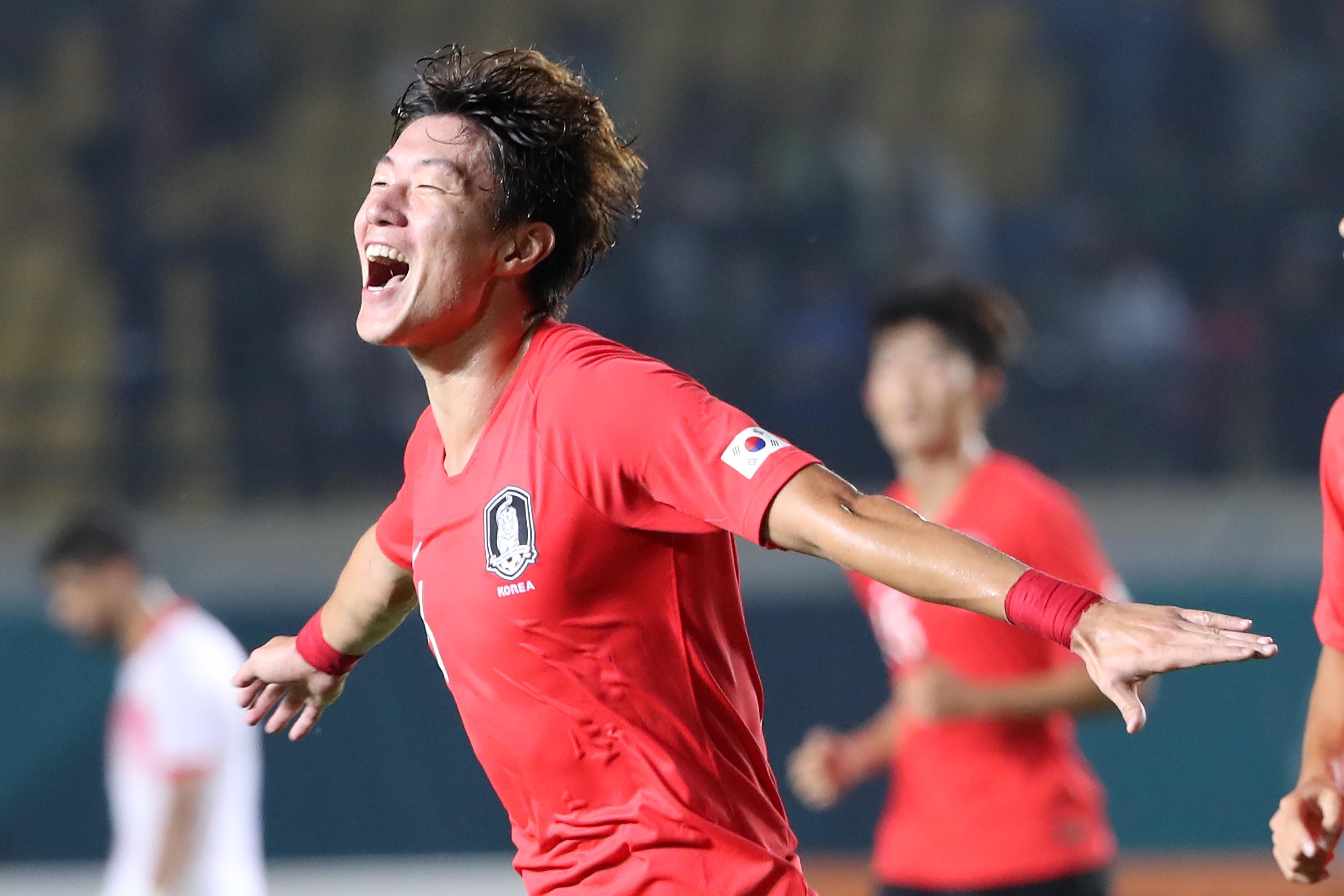 한국이 바레인에 6-0 대승을