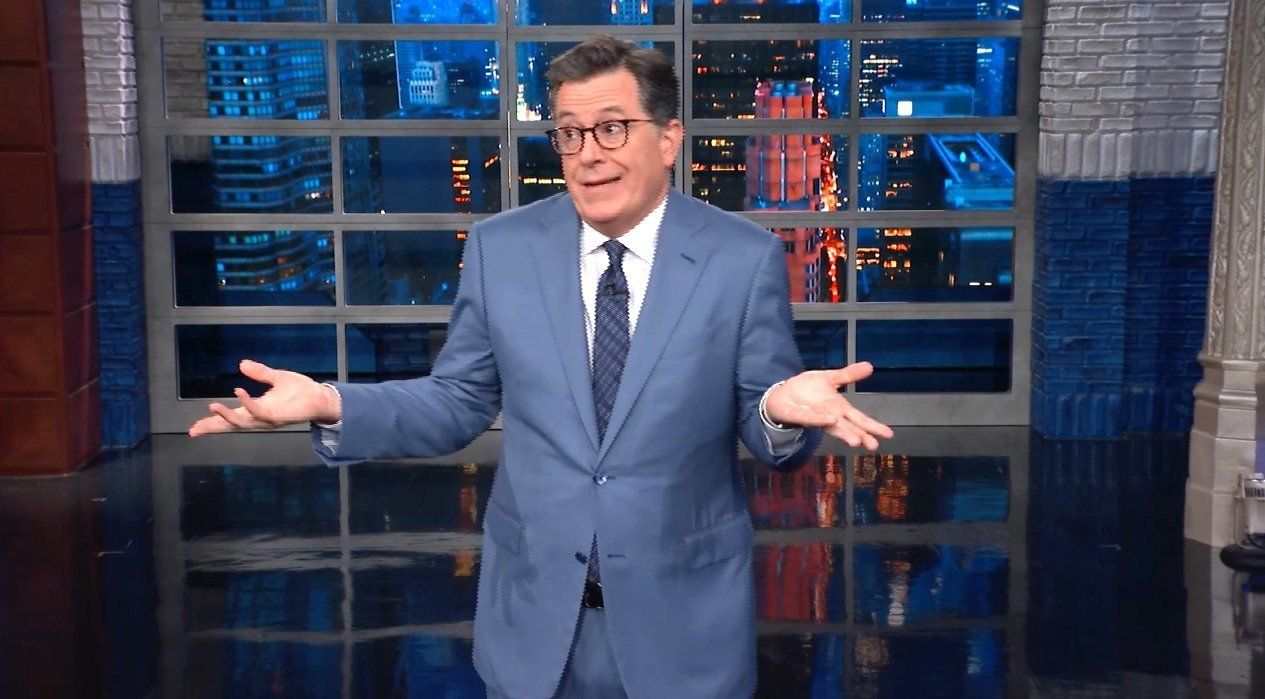 Colbert Agrees With Trump On One Thing -- And It Has To Do With