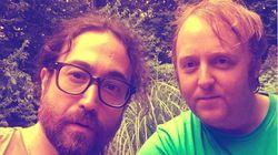 존 레논과 폴 매카트니의 두 아들이 함께 '셀카'를