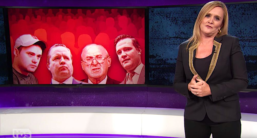 Samantha Bee goes after the new crop of fascists