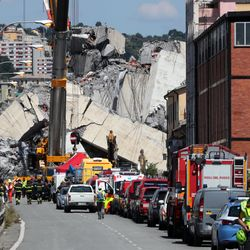 Firm Running Collapsed Italian Bridge Ordered To Pay For Quick