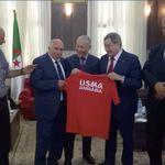 Sonatrach est prête à sponsoriser l'équipe de l'USM