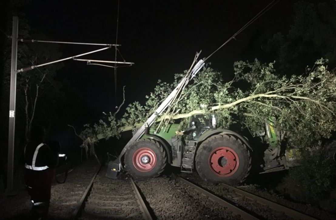 Here's How A Tractor Could Ruin Your Train