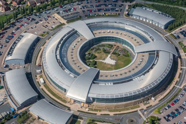 Aerial photograph of the GCHQ