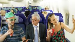 What Really Happens When You Drink Alcohol On A Flight
