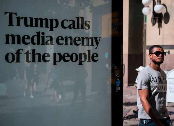 Hundreds of newspapers have banded together this week to push back against President Trump's attacks on the media.