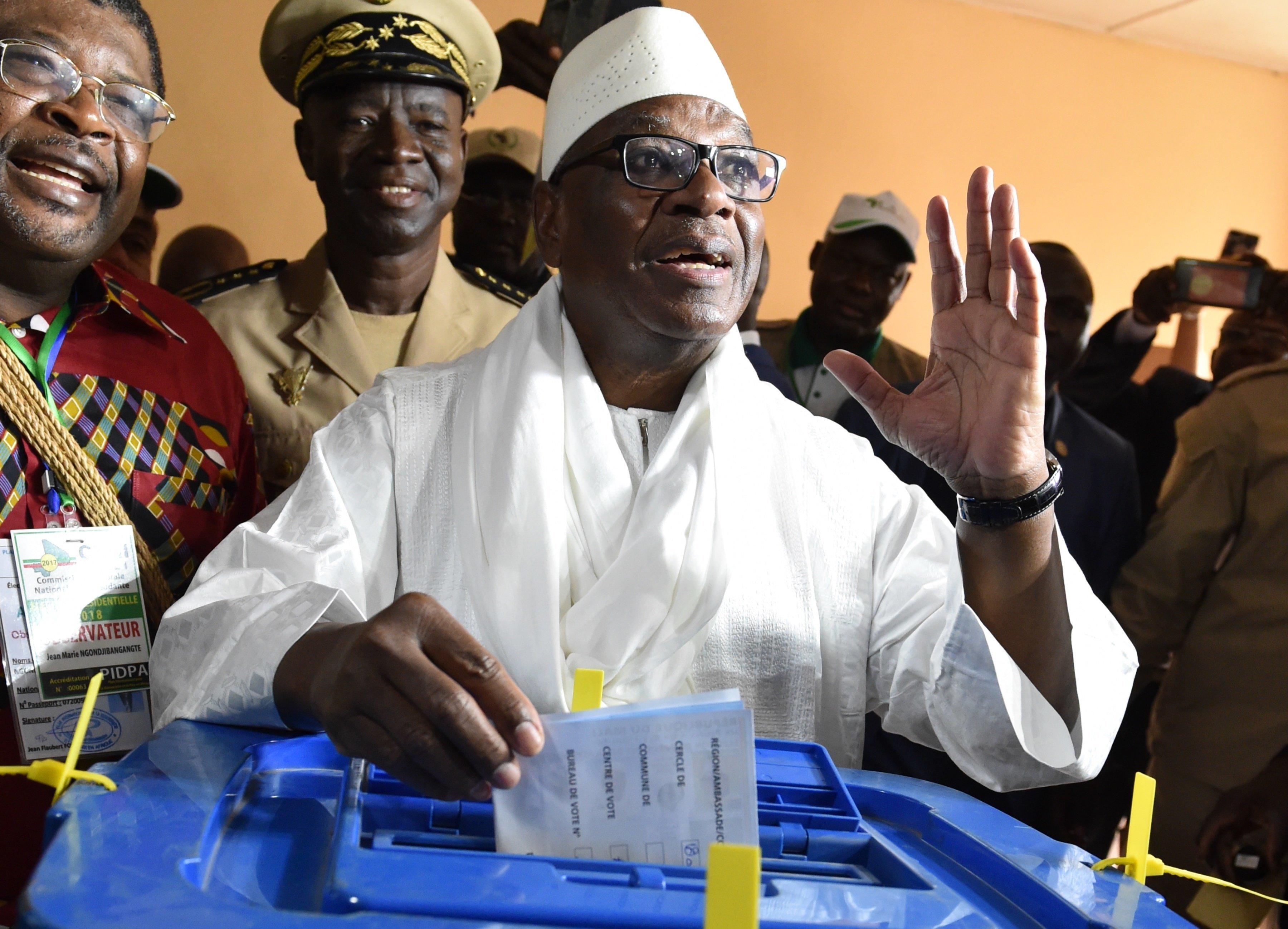 Mali: le président Keïta réélu pour un nouveau mandat de cinq