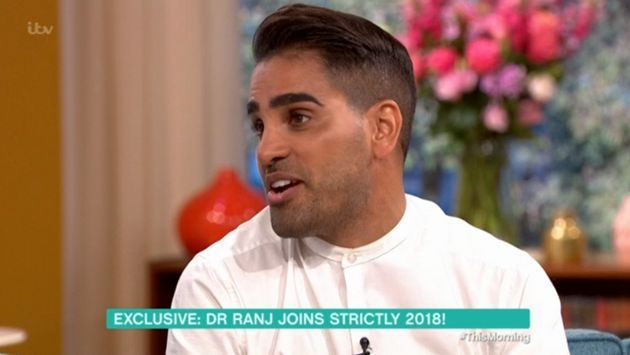 Dr Ranj is taking part on this year's 'Strictly Come