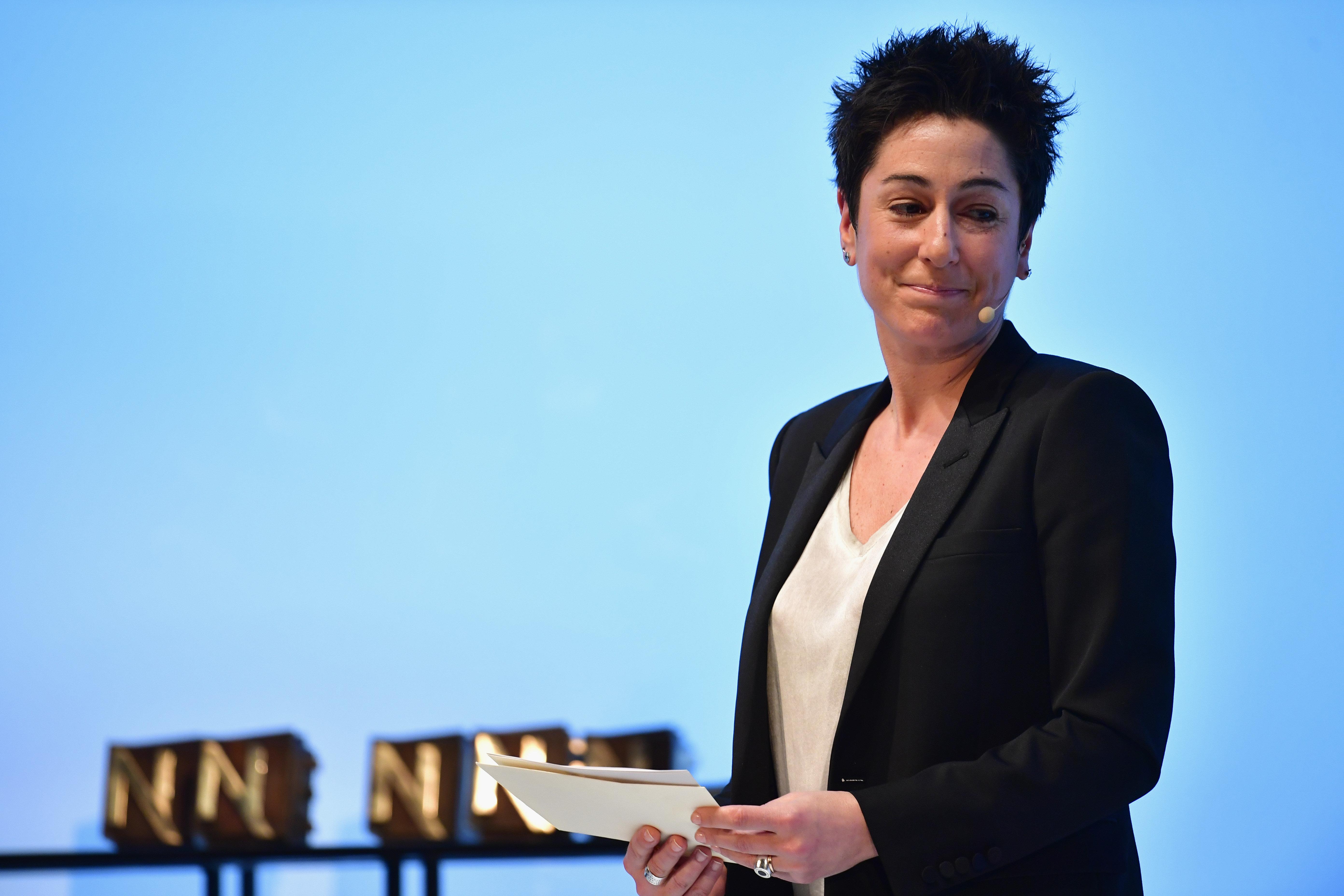 Alexander Koerner via Getty Images                                 Dunja Hayali ist eine von Deutschlands bekanntesten Journalistinnen und Moderatorinnen