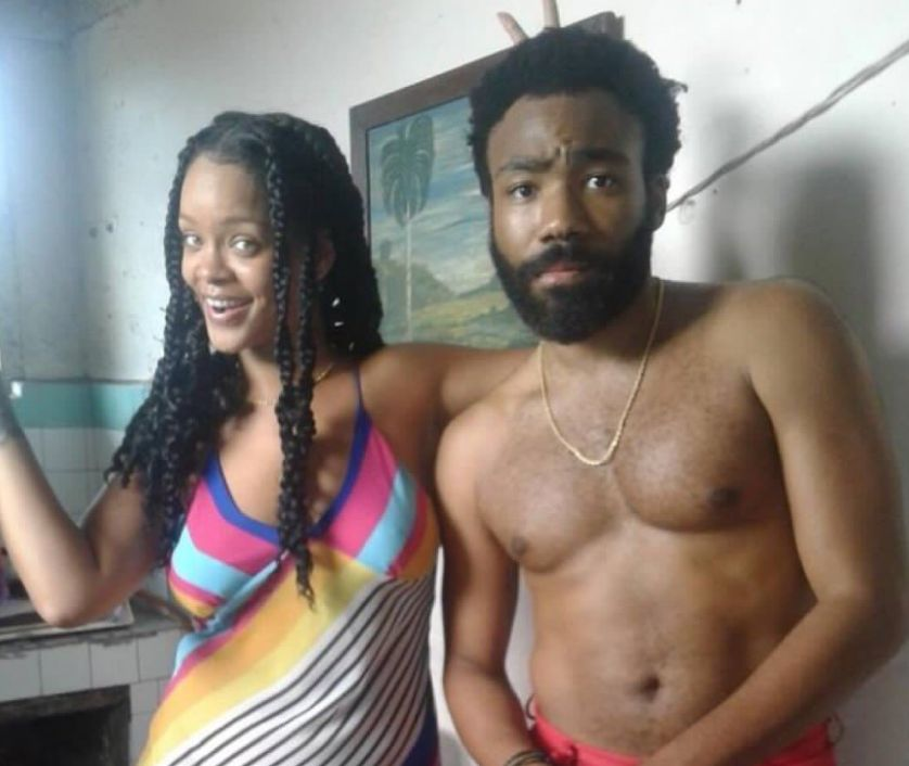 Rihanna And Donald Glover Were Spotted Together In