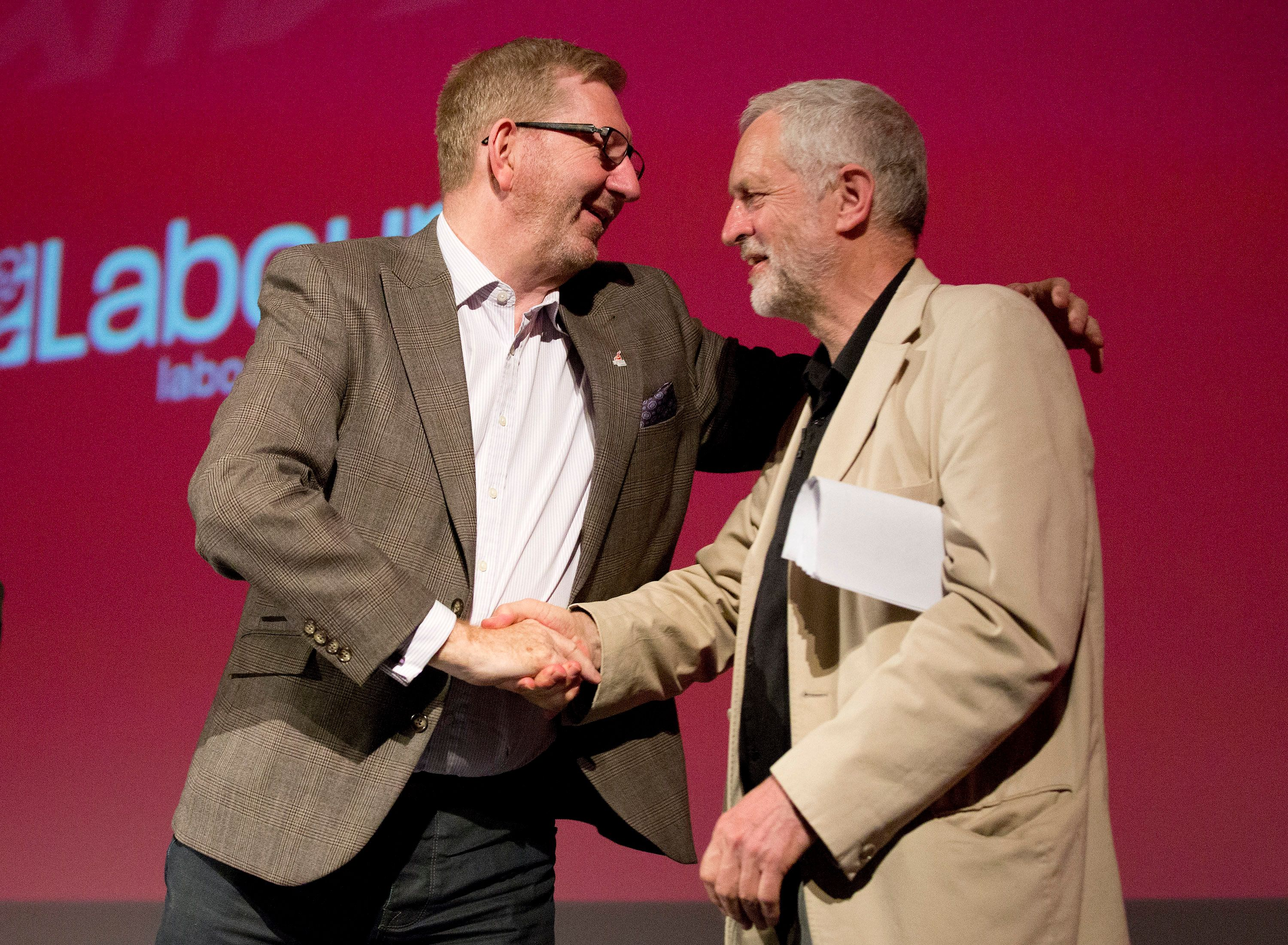 Corbyn Ally And Union Boss Len McCluskey Turns On Jewish Leaders After Wreath