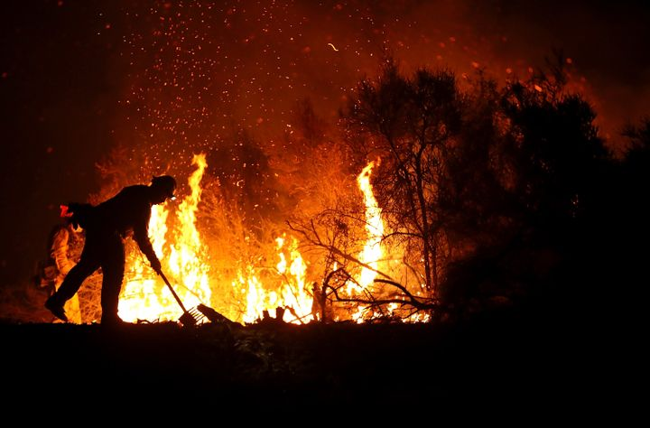 The fire is the culmination of two blazes, the River Fire and Ranch Fire.