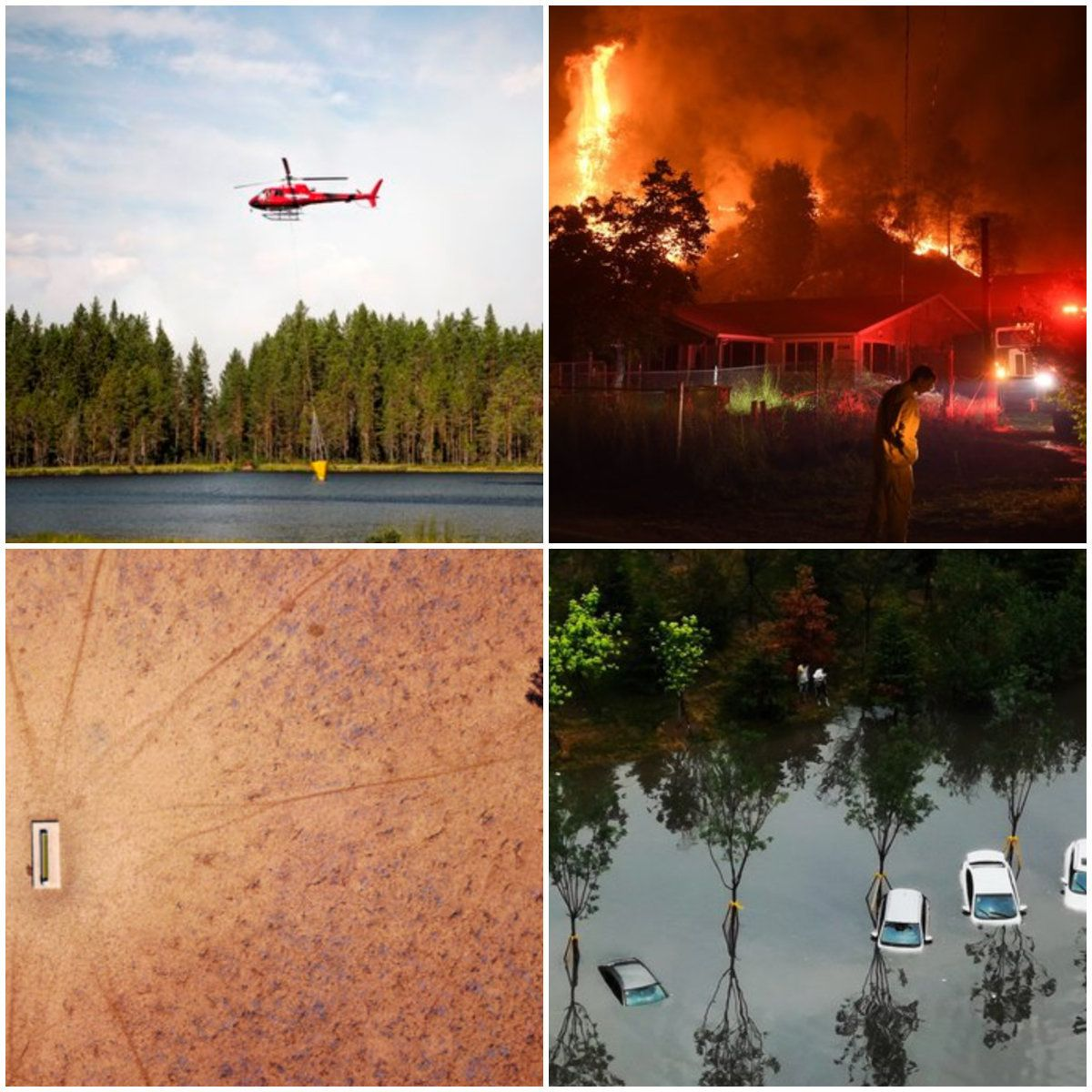 From Flash Floods To Forest Fires – The Extreme Weather Breaking Records Worldwide This Summer