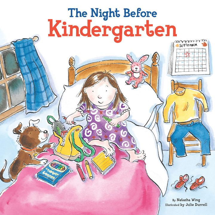 Children's books like <i>The Night Before Kindergarten </i>by Natasha Wing can make it easier for kids to underst