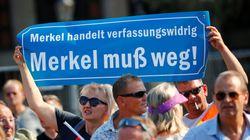 """Merkel wird in Dresden als """"Volksverräterin"""" beschimpft – so reagierte sie"""