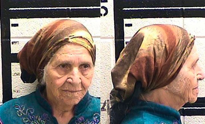 Martha Al-Bishara, 87,was charged with criminal trespass and obstructing an officer Friday after she was seen holding a