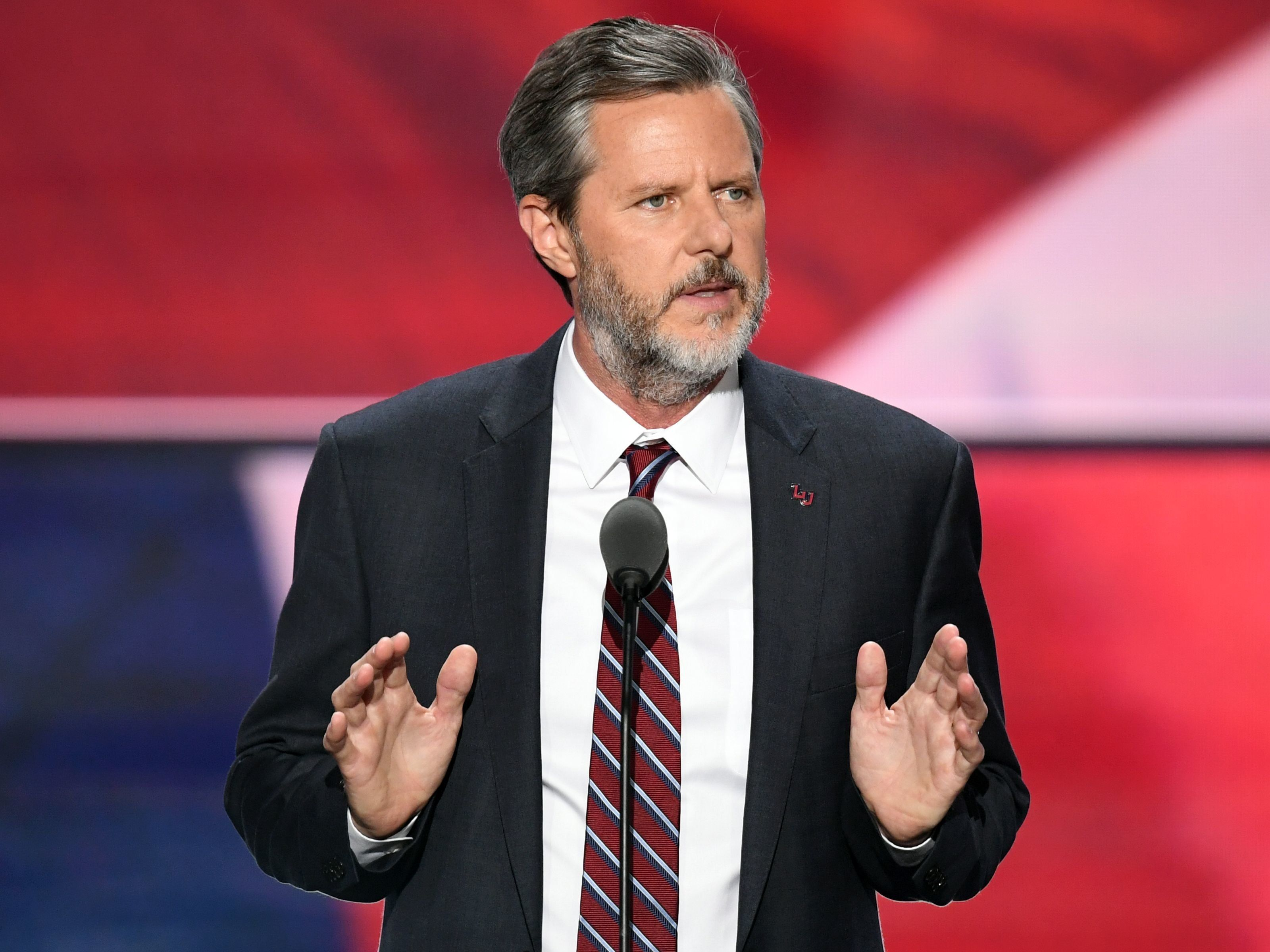 Jerry Falwell Jr Insults Founding Fathers To Defend Trumps Jerky Behavior