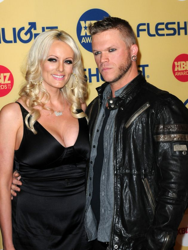 Stormy with ex-husband Brendon Miller