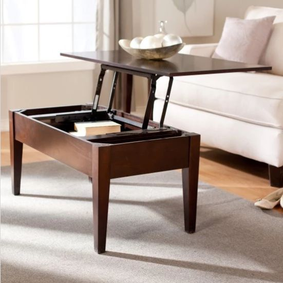 "It's practical, it has storage, and it can be used as both a desk and a dining table in a pinch. Get it <a href=""https:/"