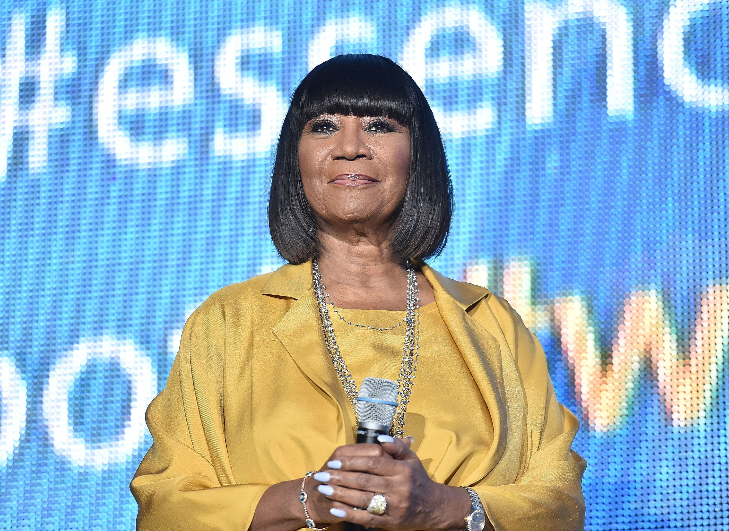 NEW ORLEANS, LA - JULY 02:  Singer Patti Labelle on stage during the 2016 Essence Festival at the Louisiana Superdome on July 2, 2016 in New Orleans, Louisiana.  (Photo by Paras Griffin/Getty Images)