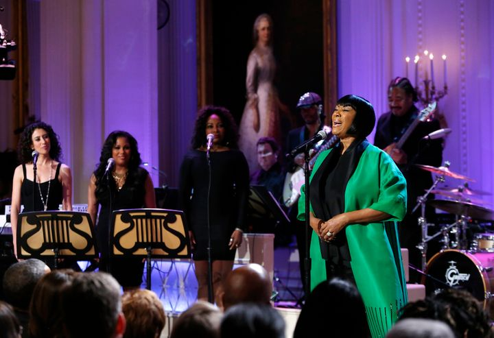 Patti LaBelle performing at the White House in 2014.