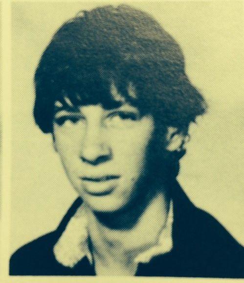 Drew Greer's school yearbook photo.