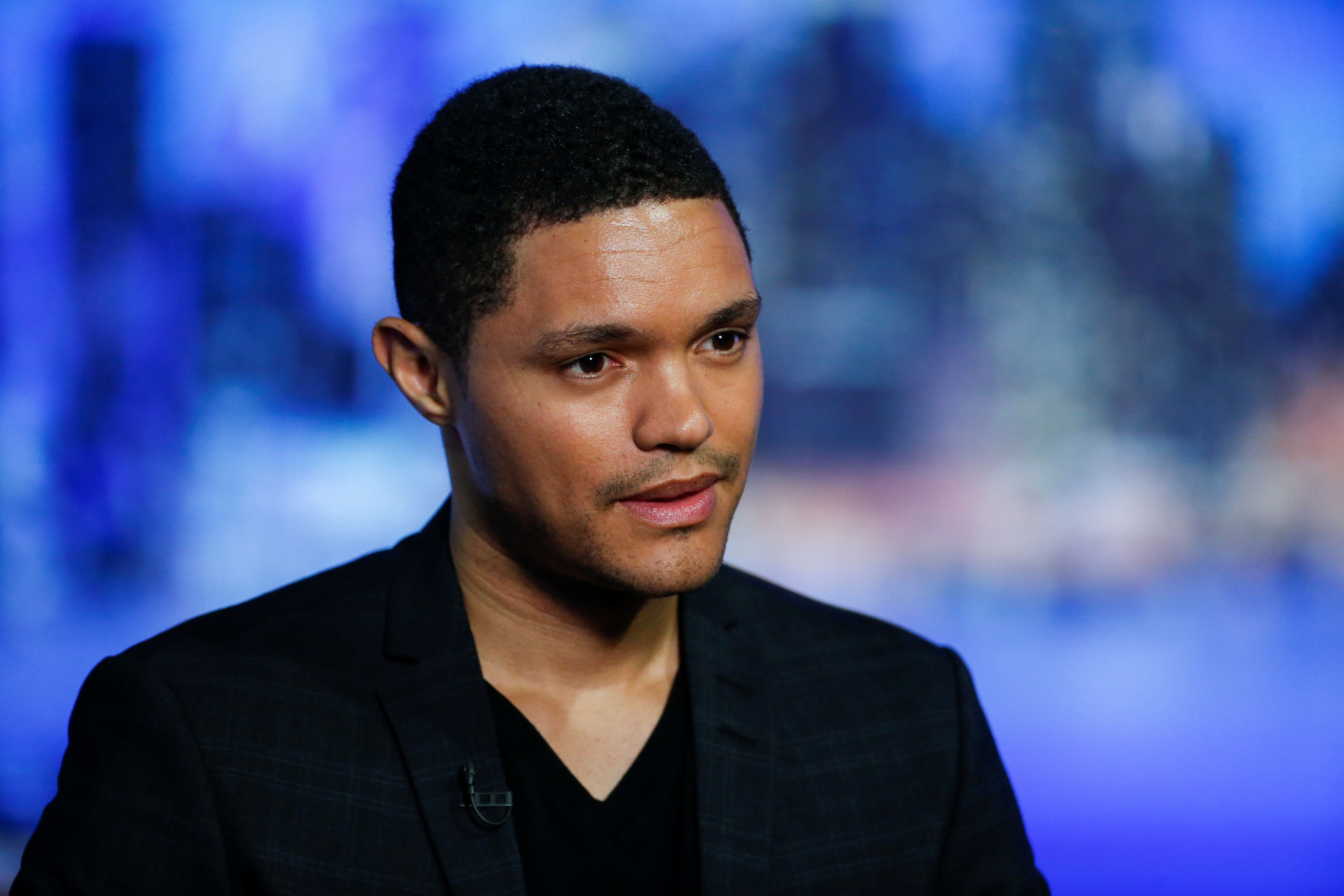 Television host Trevor Noah attends an interview with Reuters in New York July 7, 2016. REUTERS/Eduardo Munoz