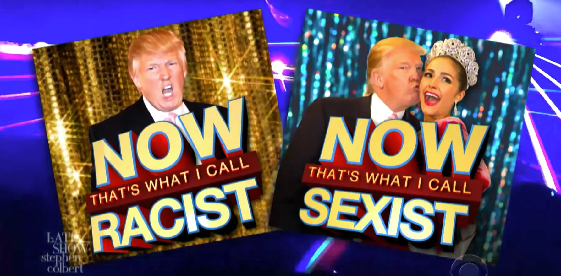 Stephen Colbert Trolls Trump With 'NOW That's What I Call Racist' EDM