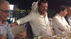 Les photos de Salvini en pleine fête après l'effondrement du pont à Gênes passent très mal