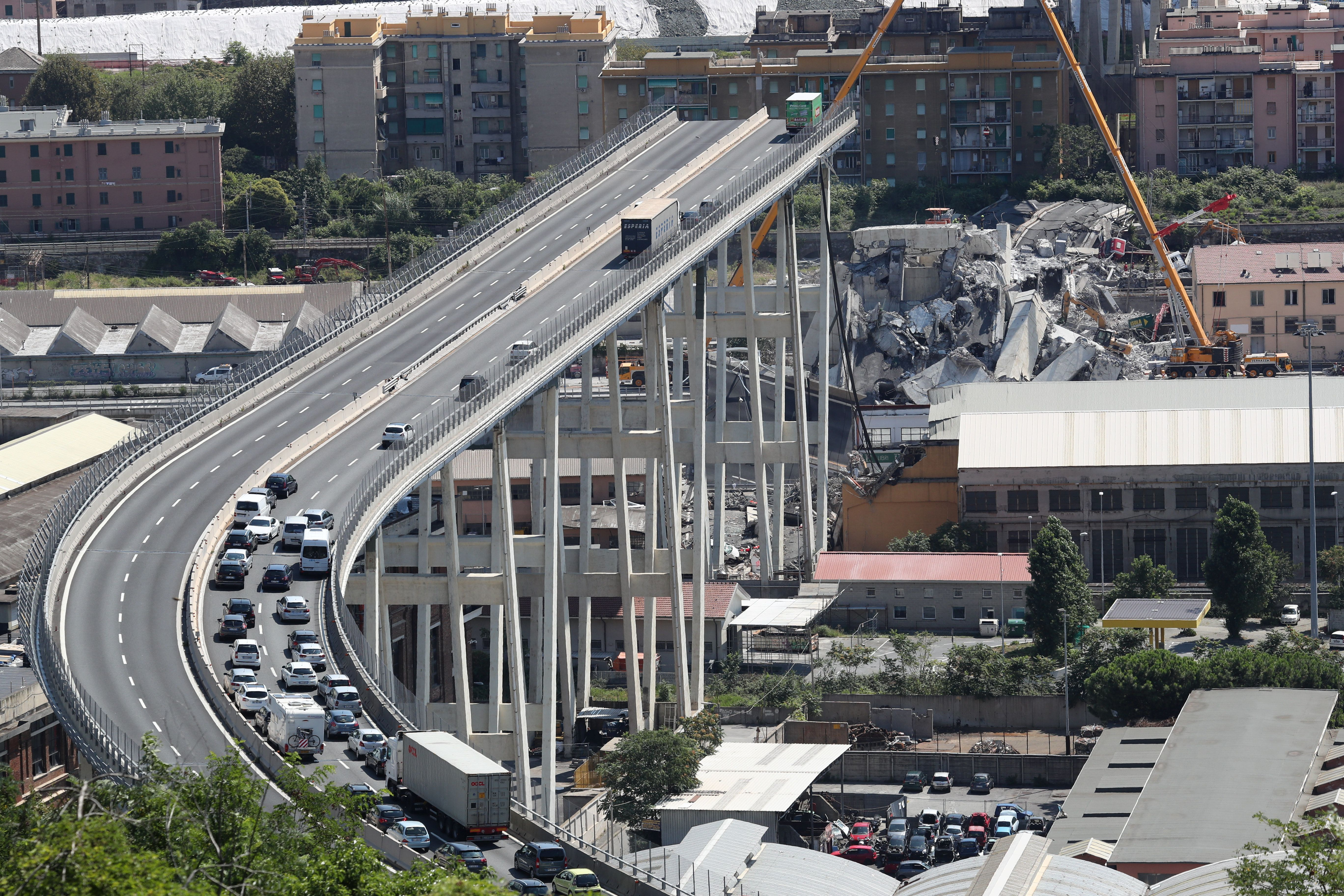 Firm Running Collapsed Italian Bridge Ordered To Pay For Quick Rebuild