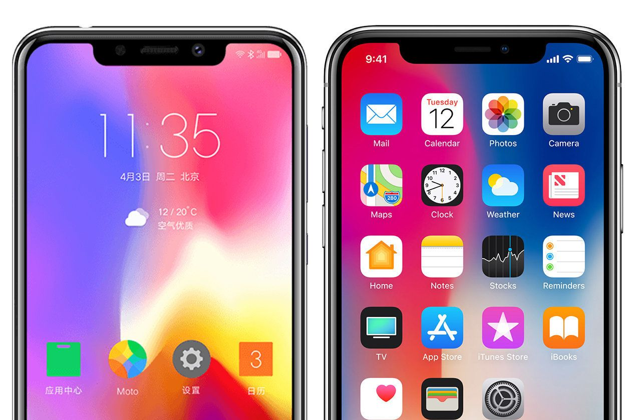 Motorola P30 Comes Under Fire As 'Shameless Rip' Of iPhone
