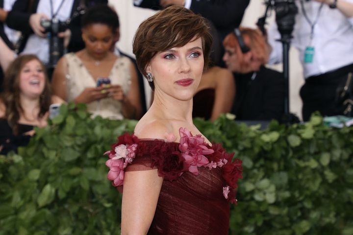 Scarlett Johansson, above, and Angelina Jolie were the only two actresses to top the $20 million mark, compared with three la