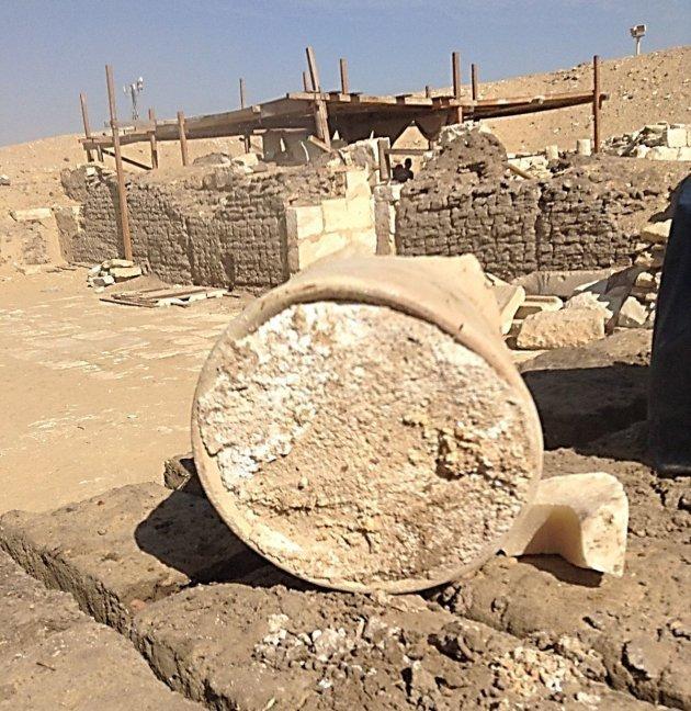 Un fromage vieux de 3200 ans découvert dans une tombe en Egypte