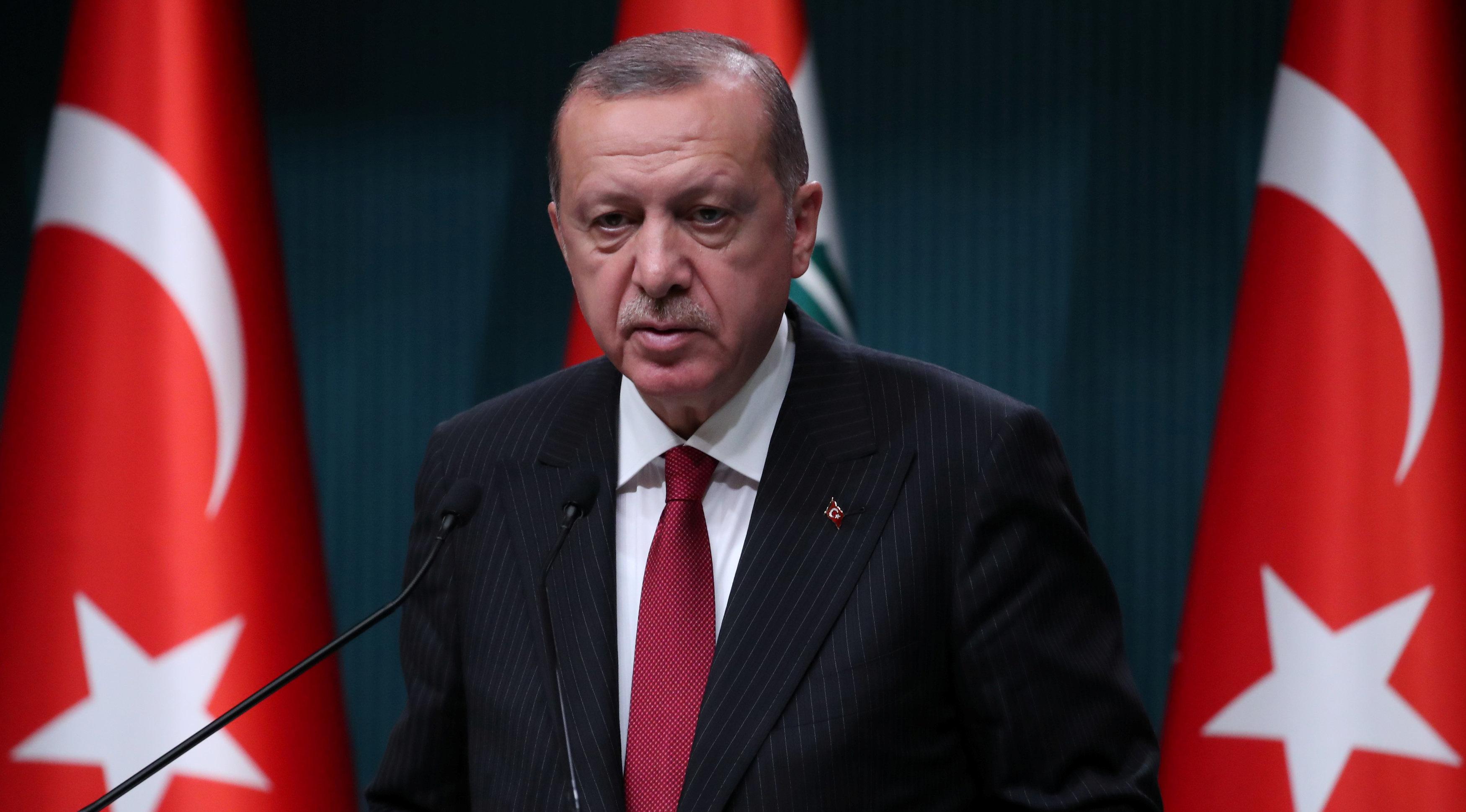 Recep Tayyip Erdoğan et le taux