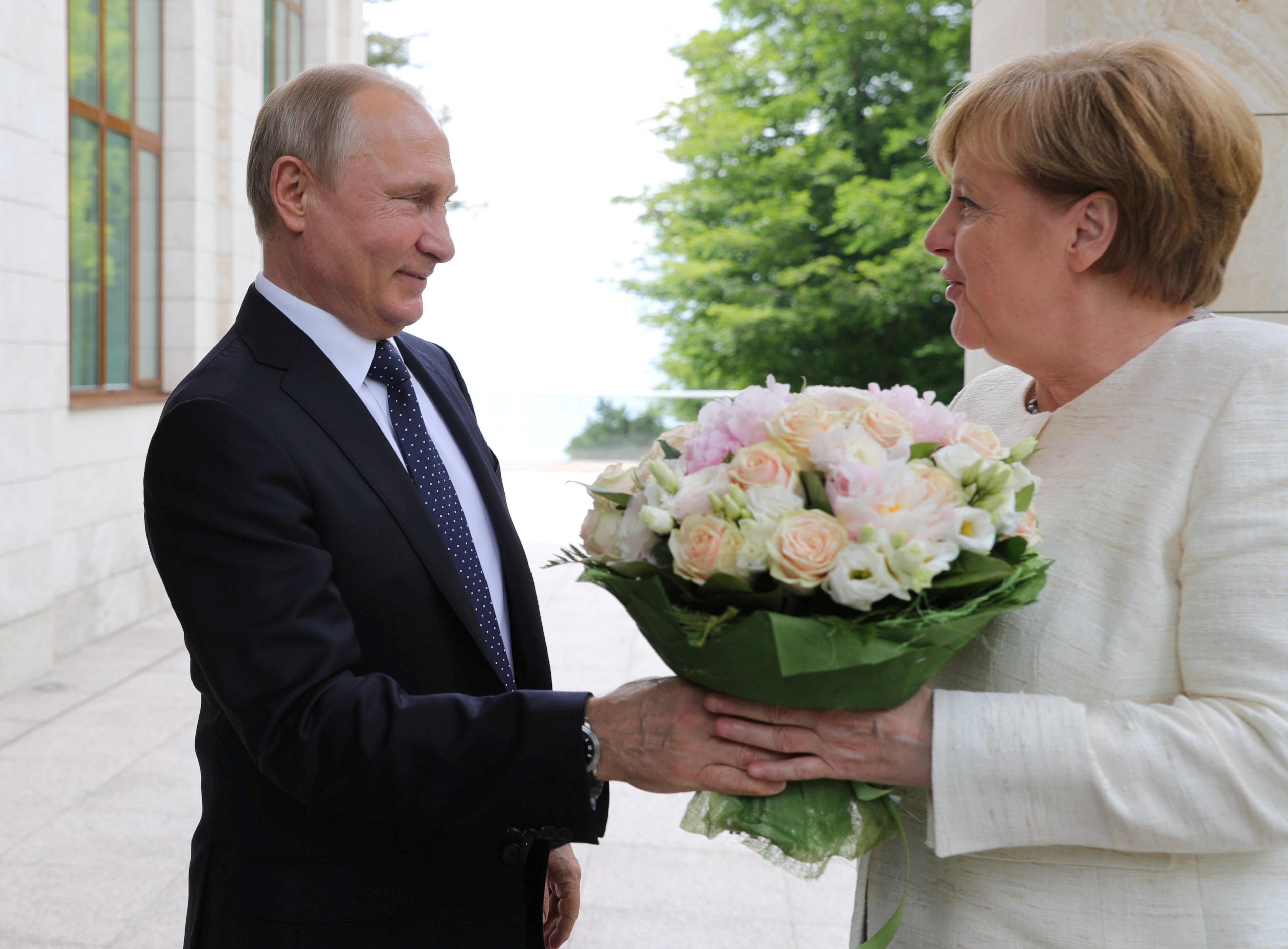 Merkel empfängt Putin: Was die Kanzlerin wirklich von dem russischen Autokraten