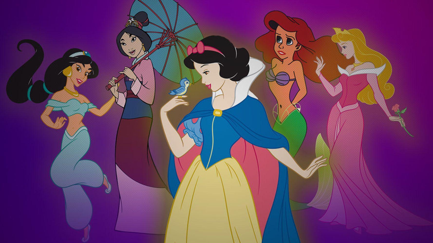 easy all disney princesses together